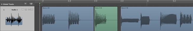 how to fix choppy audio after pitch shift
